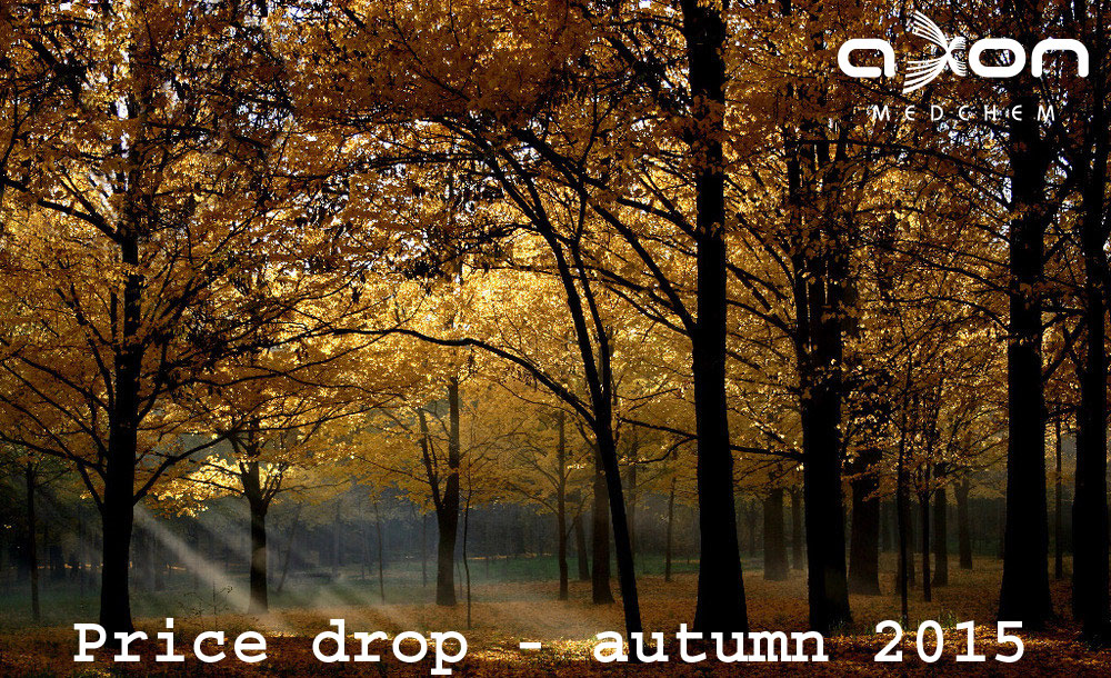 Autumn 2015: Leaves are falling - prices drop!